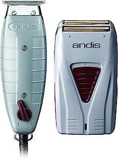 Andis Finishing Combo    صاف کننده Corded T outline و اصلاح کننده بی سیم Profoil Lithium