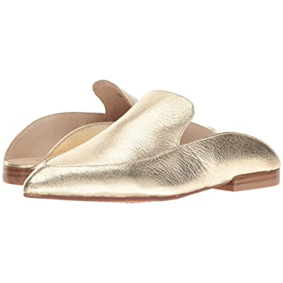 Kristin Cavallari Capri Mule (Gold Leather) Women