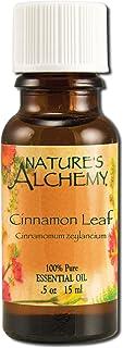 Nature's Alchemy 100% Pure Essential Oil Cinnamon Leaf, 0.5 Fluid Ounce