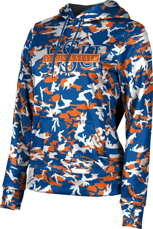 ProSphere Virginia State University Girls' Pullover Hoodie, School Spirit Sweatshirt (Camo)