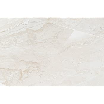 Queen Beige Marble 18x18 Polished Tiles Standard Quality Sample Amazon Com
