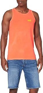 Superdry OL Neon Lite Vest Camiseta sin Mangas para Hombre