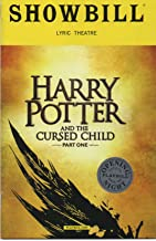 Harry Potter and the Cursed Child (Parts One/Two) Official Broadway Opening Day Showbills (Playbills) - April 22.2018 - Lyric Theatre