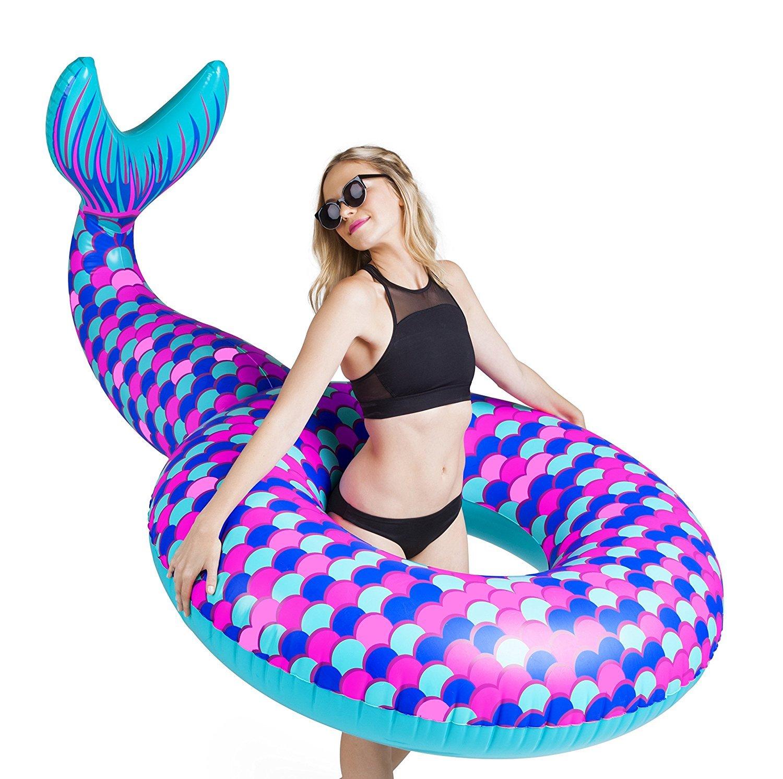 BigMouth Inc – Flotador Hinchable Cola de Sirena Gigante ...