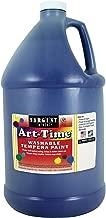 Sargent Art 17-3650 128 Ounce Blue Art-Time Washable Tempera Paint, Gallon, 1 Gallon