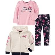Baby Girls 3 Pieces Jacket Set