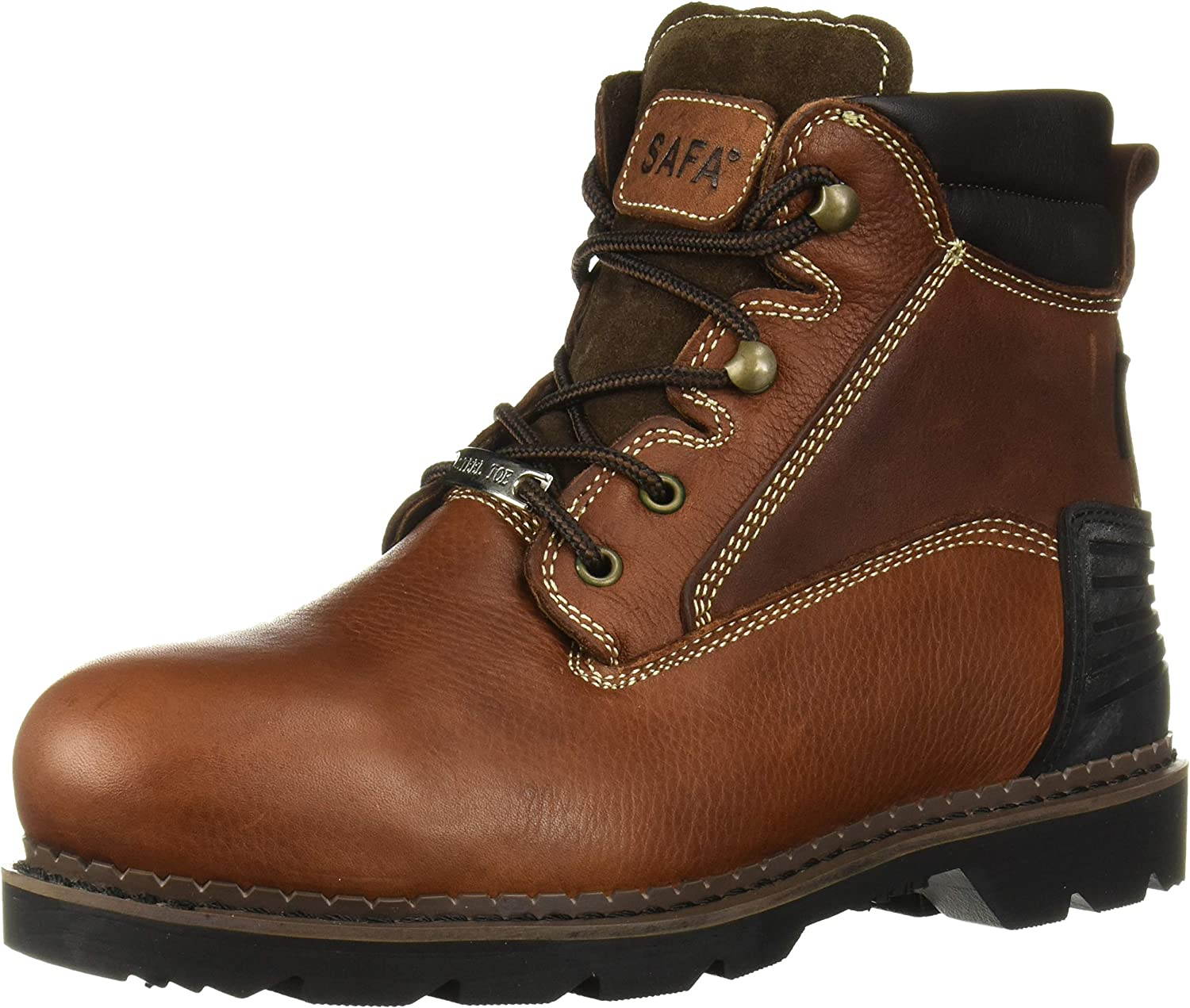 AdTec Men's 9400 Industrial Boot, Brown, 12 W US