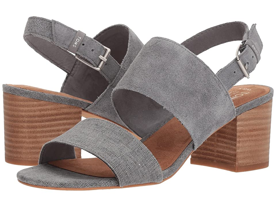 TOMS Poppy (Shade Suede/Linen) Women
