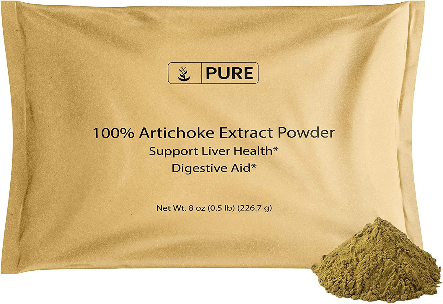 Artichoke Extract Powder store 8 oz Translated System Health Liver Digestive