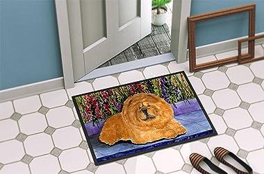 """Caroline's Treasures SS8601MAT Chow Chow Indoor Outdoor Doormat, 18"""" x 27"""", Multicolor"""