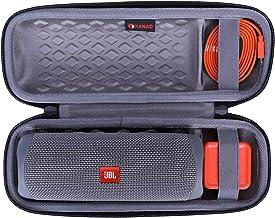 XANAD Hard Case for JBL FLIP 5 Speaker - Travel Carrying Storage Protective Bag (Outside Black and Inside Grey)