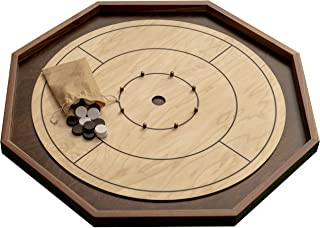 Real Hardwood Tournament Size Crokinole Board by Cape Fear Board Co.