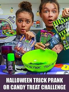 Halloween Trick Prank or Candy Treat Challenge