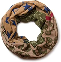 styleBREAKER sciarpa tubolare scaldacollo con motivo in stile messicano con teschio 01016044