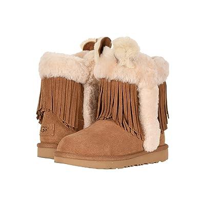 UGG Kids Darlala Classic II (Little Kid/Big Kid) (Chestnut) Girls Shoes
