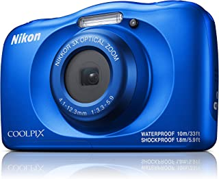 Nikon Coolpix W150 Digital Camera, Blue