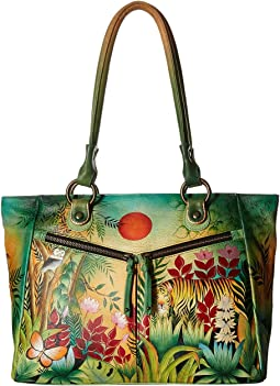 Anuschka Handbags - 562 Large Shopper With Front Pockets