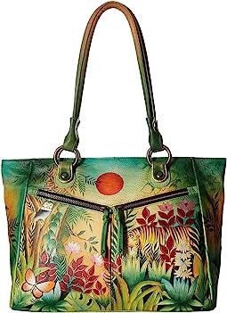 Anuschka Handbags - 562 Large Shopper With Front Pockets