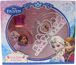 Frozen by Disney for Kids - 2 Pc Gift Set 3.4oz EDT Spray, Hair Accessory