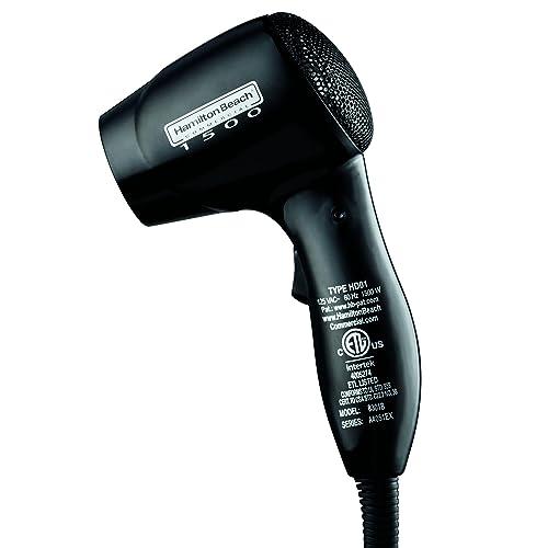 Hamilton Beach Commercial 8301B Black 2-Speed 1500W Hair Dryer