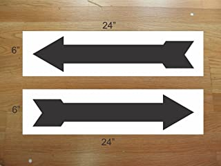 Black Arrow 6x24 Real Estate Rider Signs Buy 1 Get 1 Free 2 Sided