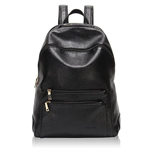 Hynes Victory Faux Leather Backpack for Women Dressy Campus Backpack Purse