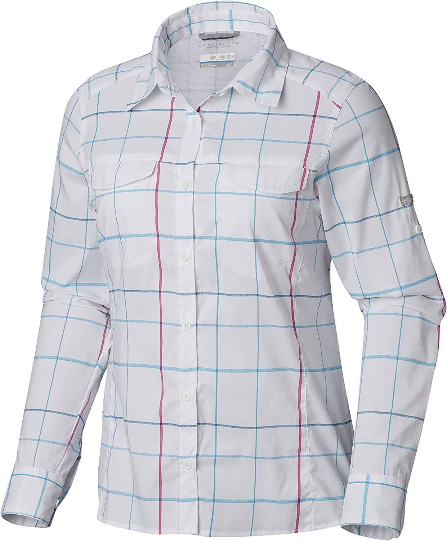Industry No. Free shipping 1 Columbia Women's Silver Ridge Lite Sleeve Shirt Long Plaid