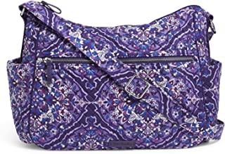 Vera Bradley Women's Iconic Large On the Go, Signature Cotton Vera Bradley Women's Signature Cotton Large On the Go Crossb...