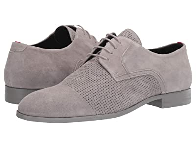 BOSS Hugo Boss Smart Suede Derby by HUGO (Light Grey) Men