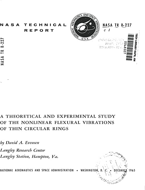 A theoretical and experimental study of the nonlinear flexural vibrations of thin circular rings (English Edition)