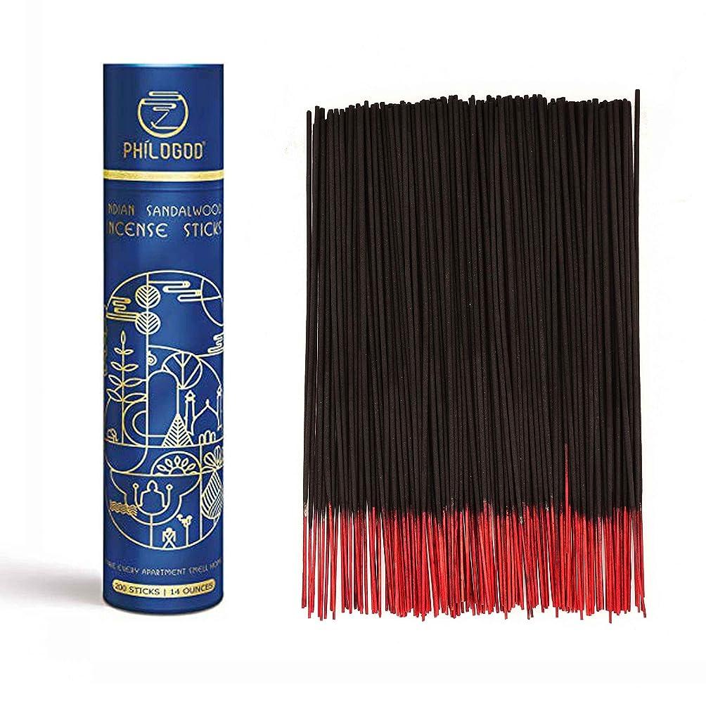 棚オフセット夜明け上質なインドお香スティック 手作り 100%ナチュラル 長続く線香 ヨガ瞑想 200本入れ (オリエンタル系)