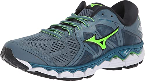 Mizuno Men's Wave Sky 2 Running zapatos Mirange Evening azul, 10 D US