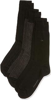 Calvin Klein Men's Birdseye Flat-knit Crew Socks (3 Pair)