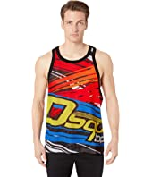 DSQUARED2 - Poly Mesh Tank Top