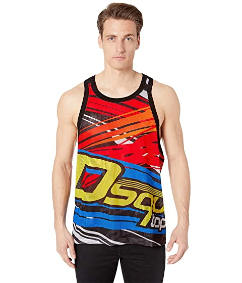 DSQUARED2 Poly Mesh Tank Top