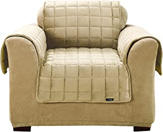 SureFit Deluxe Pet Cover - Chair Slipcover - Ivory