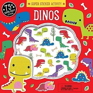 Super Sticker Activity: Dinos