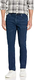 John Varvatos Star USA Men's Bowery Slim Fit Straight Leg Jean