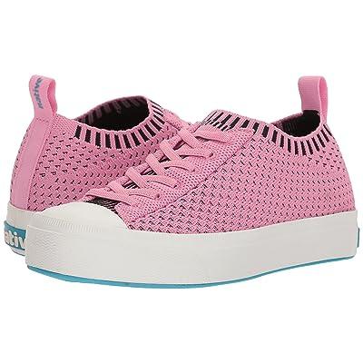Native Kids Shoes Jefferson 2.0 Liteknit (Little Kid) (Malibu Pink/Shell White) Girls Shoes