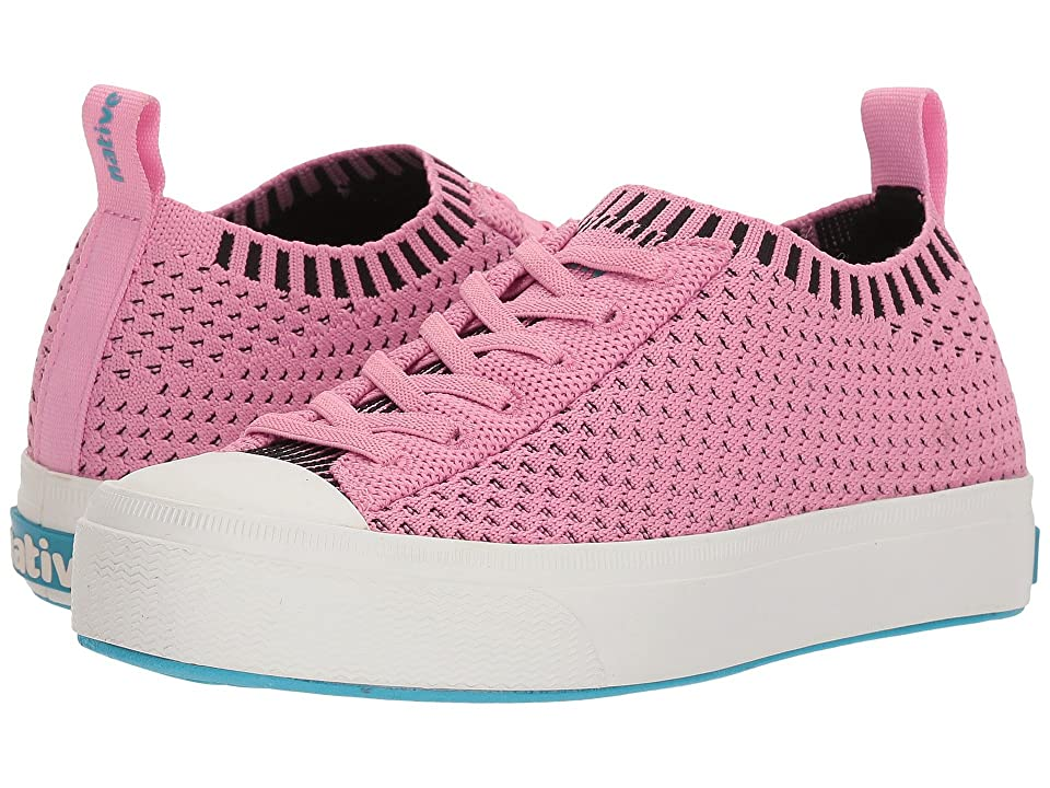 Native Kids Shoes Jefferson 2.0 Liteknit (Little Kid) (Malibu Pink/Shell White) Girls Shoes