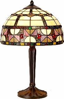 Lámpara de sobremesa estilo Tiffany