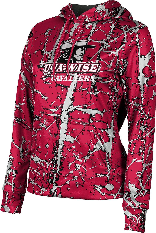 University of Virginia's College at Wise Girls' Pullover Hoodie, School Spirit Sweatshirt (Distressed)