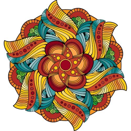 Mandalas Mágicas para Colorir