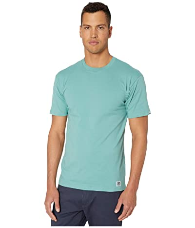 Vans Elevated Short Sleeve (Oil Blue) Men