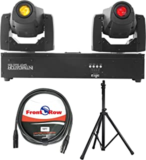 Chauvet DJ Intimidator Spot Duo 155 Dual Compact LED Moving Head Light (with Stand & Cable)