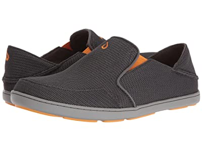 OluKai Nohea Mesh (Dark Shadow/Dark Shadow) Men