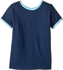 4Ward Clothing - Four-Way Reversible Short Sleeve Scoop Jersey Top (Little Kids/Big Kids)