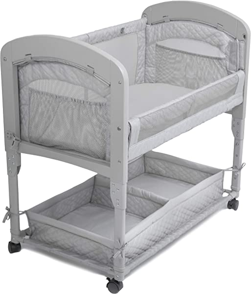 Arm S Reach Concepts Cambria Co Sleeper Bassinet Grey