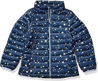 Amazon Essentials Hooded Puffer Jacket Niñas