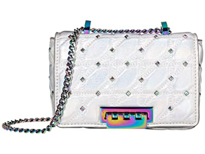 ZAC Zac Posen Earthette Small Soft Chain Shoulder Metallic (Iridescent) Handbags